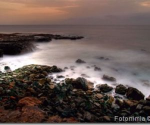 Fotografiando la costa