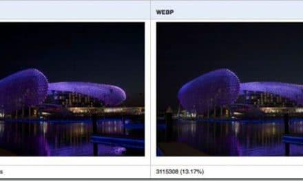 Webp: Un rival para el jpg