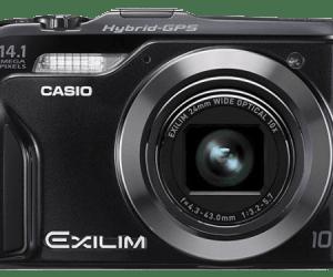 Casio anuncia la nueva Exilim EX-H20G con GPS híbrido