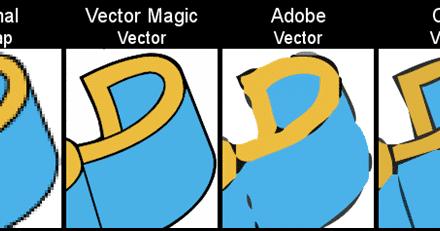 Como vectorizar un mapa de bits facilmente