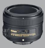 Nikon 50mm f1.8