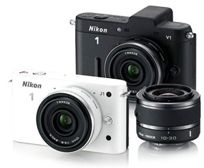 Nikon lanza 2 nuevos modelos: Nikon 1 V1 y J1