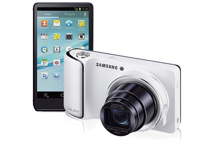 Samsung Galaxy Camera con Android
